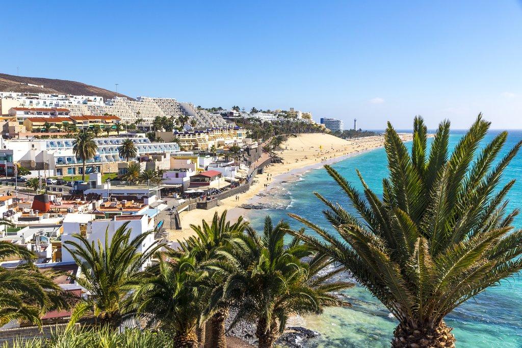 Morro Jable Beach, Fuerteventura