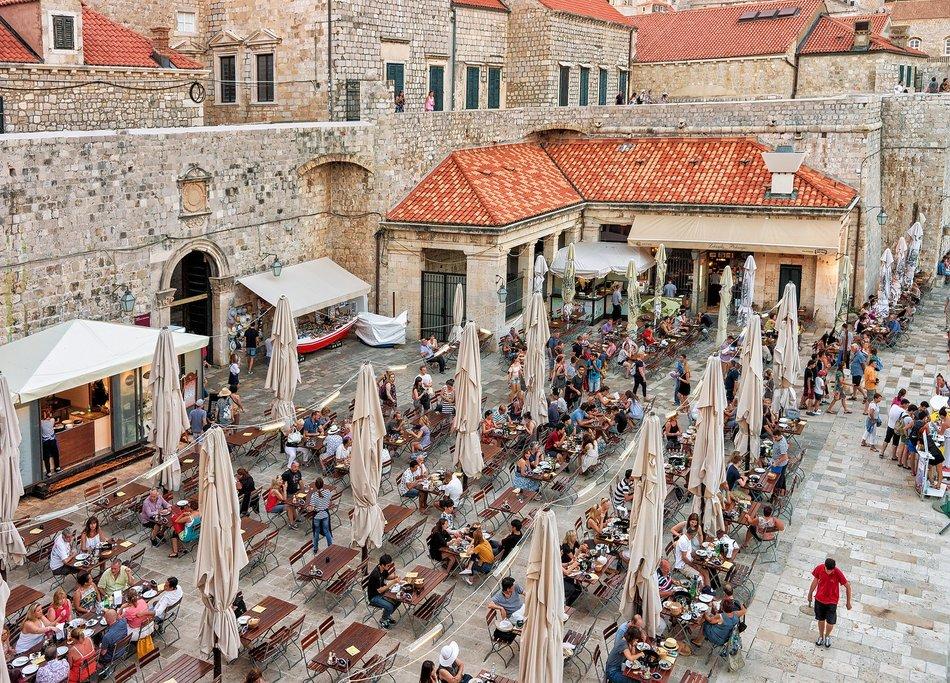 Dining in Dubrovnik