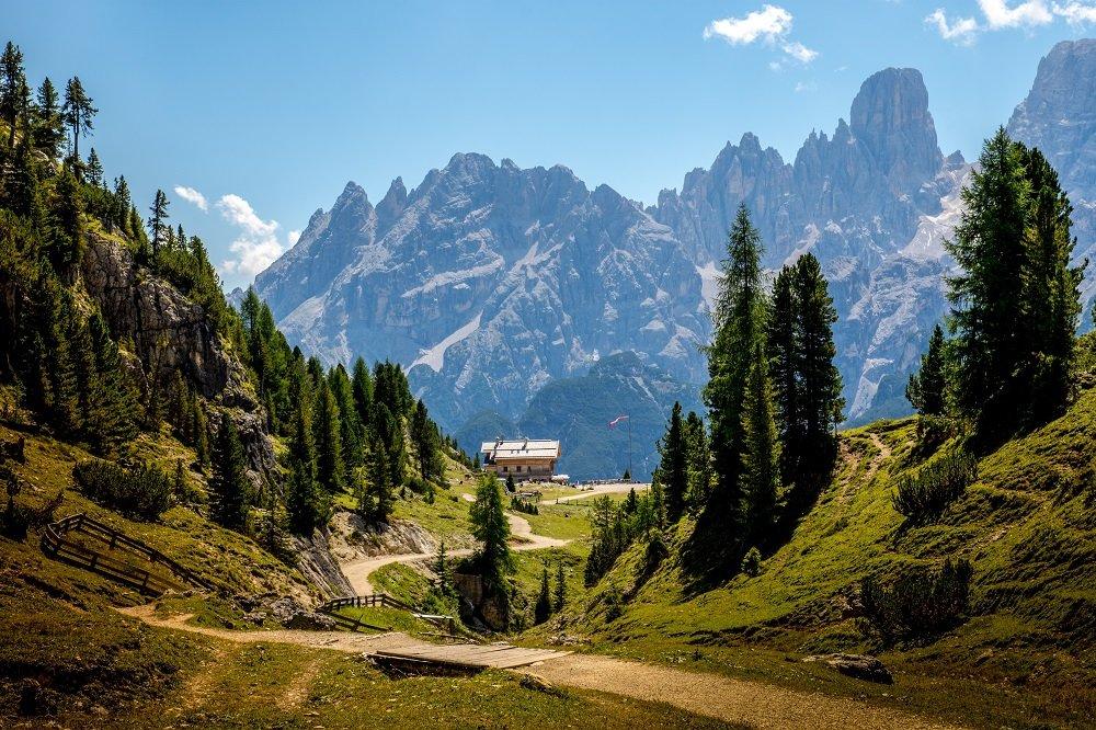Hiking Trails, Dolomites
