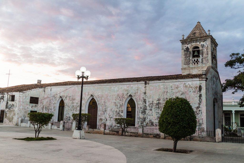 San Jeronimo church in Las Tunas, Cuba