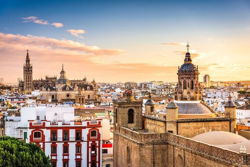 The Old Quarter in Seville, Spain