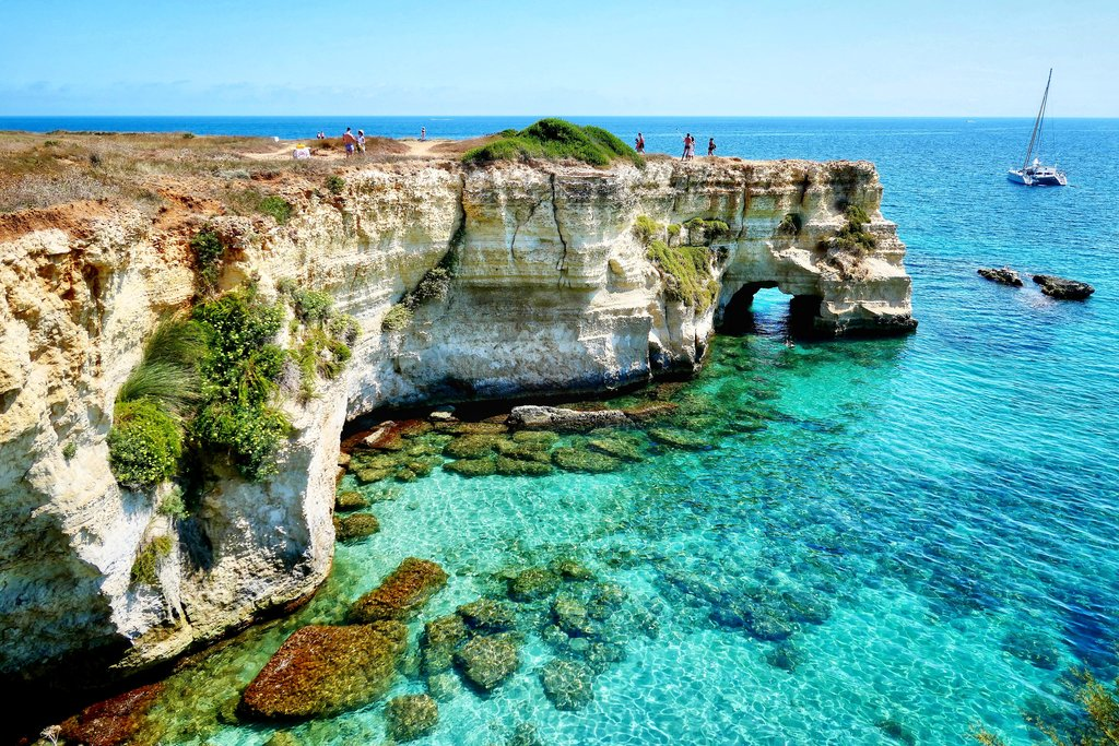 Crystal clear water, Puglia