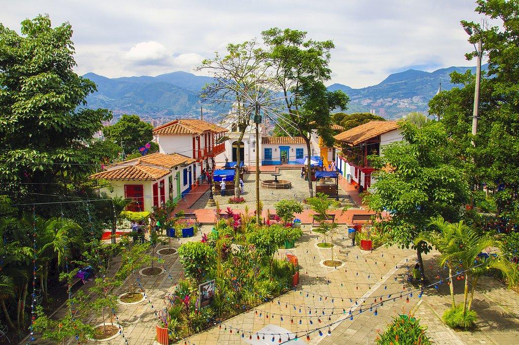 Pueblito Paisa on Nutibara Hill, Medellín