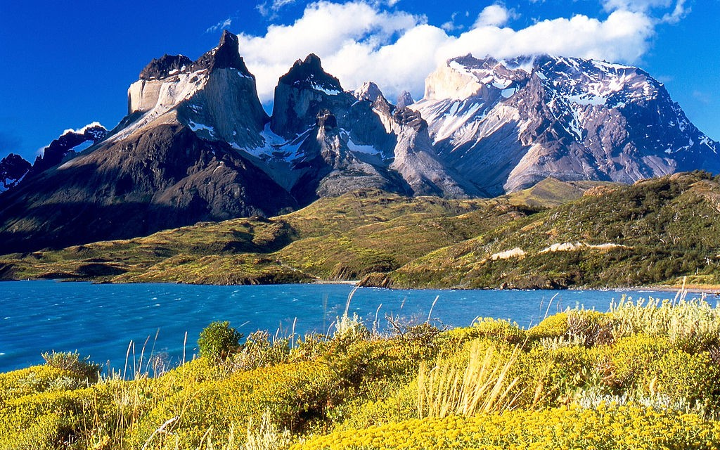Torres del Paine National Park in Chilean Patagonia