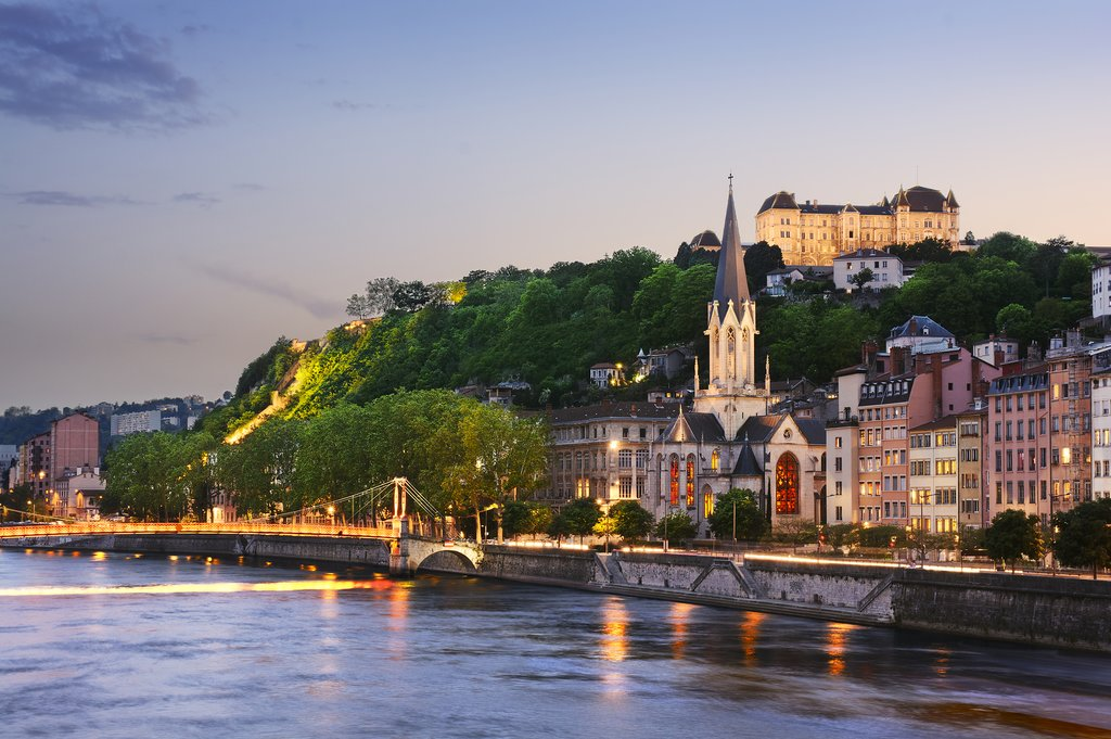 Take the train to Lyon, France's 3rd largest city