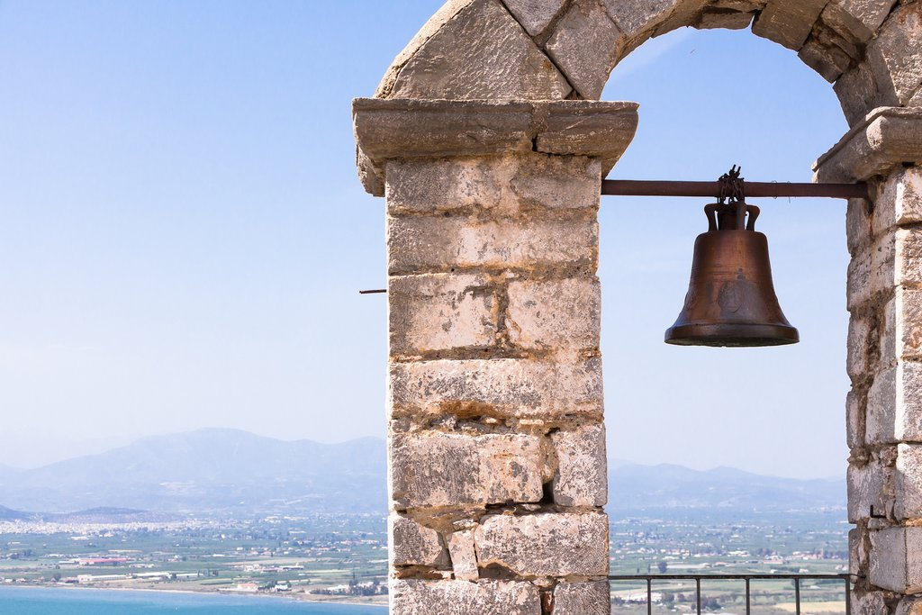 Views from Nafplio's Palamidi Castle