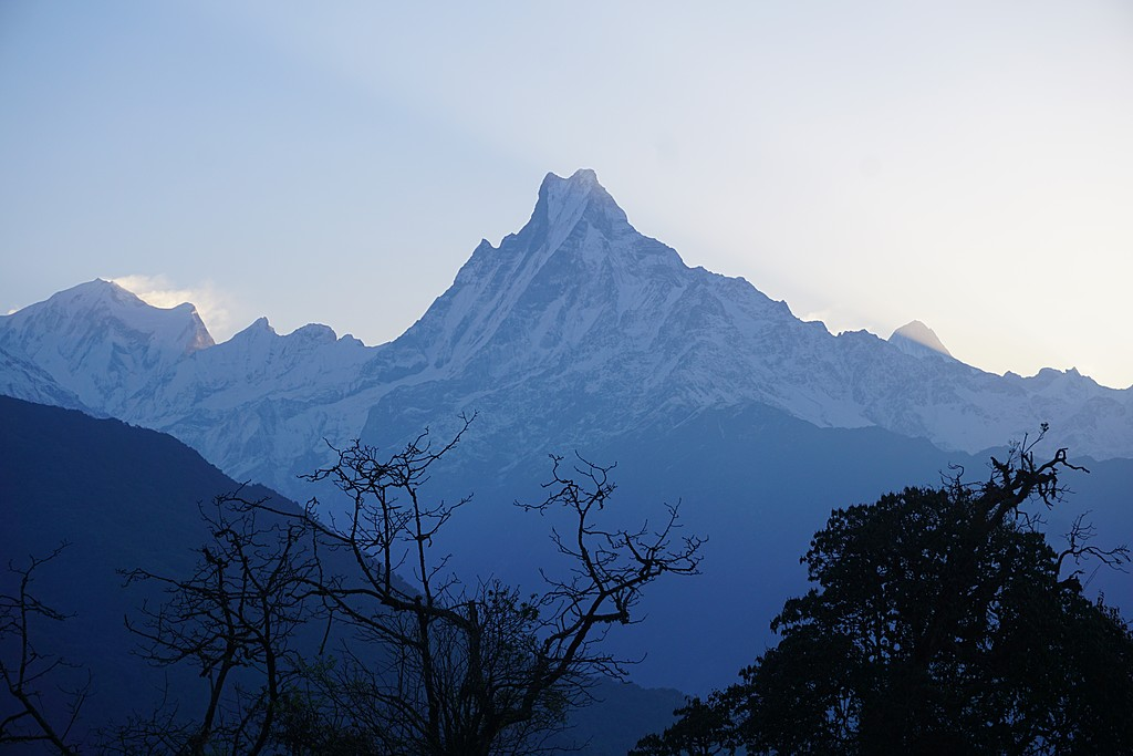 Views of the lower Annapurna foothills
