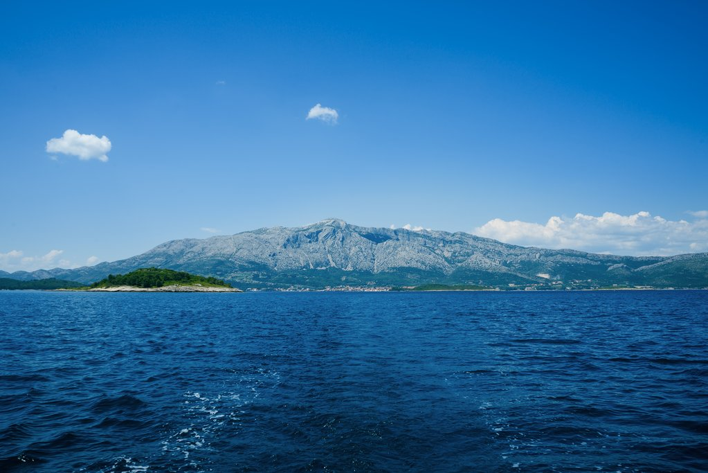The beautiful island of Mljet off the coast of Dubrovnik