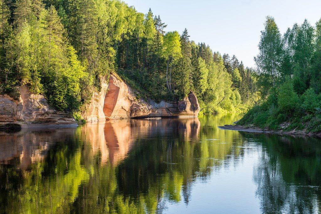 Gauja National Park in Latvia