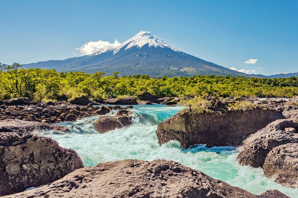 Osorno Volcano in Chile's Lake District