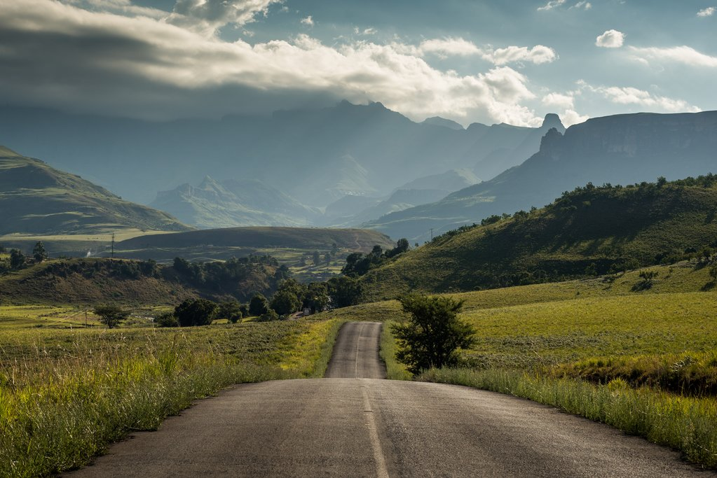 Royal Natal National Park in the Drakensberg Mountains