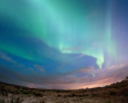 The Northern Lights are best seen September through March
