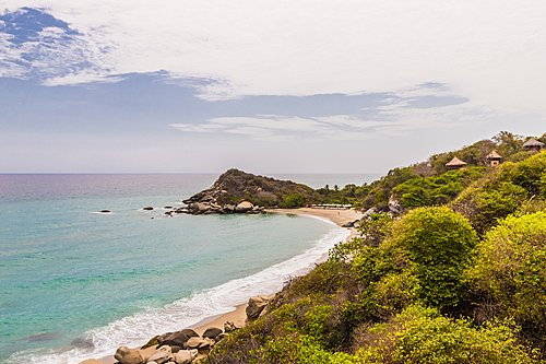 Beach at Tayrona Park