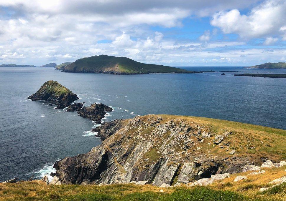Dunmore Head and the Blasket Islands