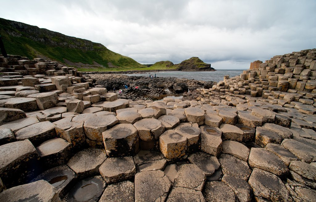 Basalt columns of the Giants Causeway