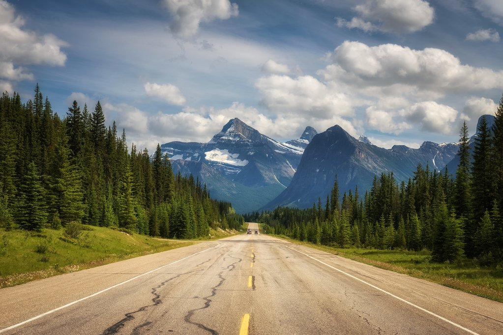Follow this epic route through the Canada Rockies