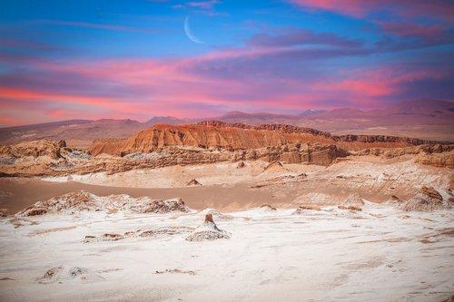 Valle de la Luna (Moon Valley) close to San Pedro de Atacama