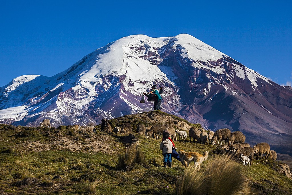 The Chimborazo Volcano