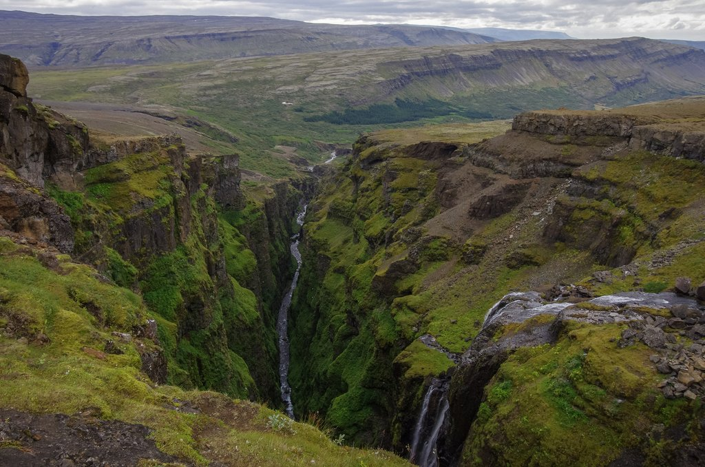 Explore Glymur Falls in West Iceland