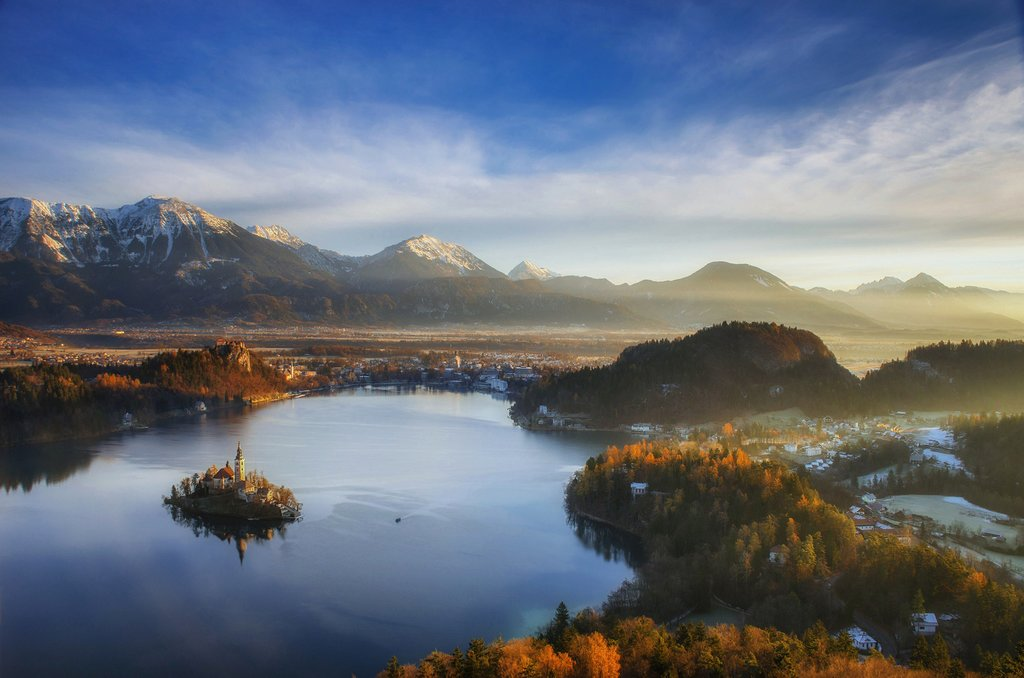 Lake Bled and the Julian Alps