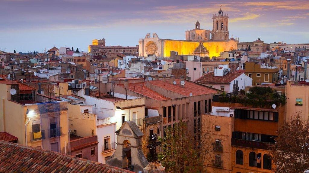 Magic light in Tarragona