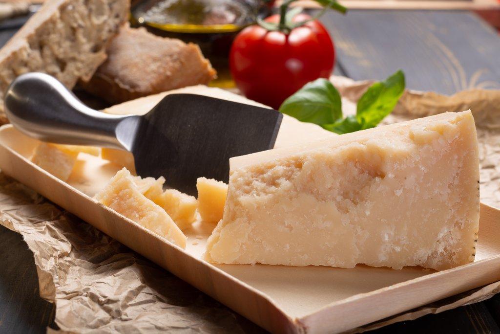 Parmigiano-Reggiano in Parma