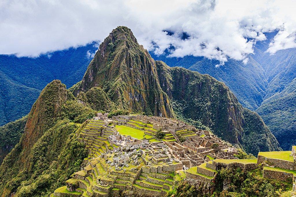 A break from the clouds in Machu Picchu