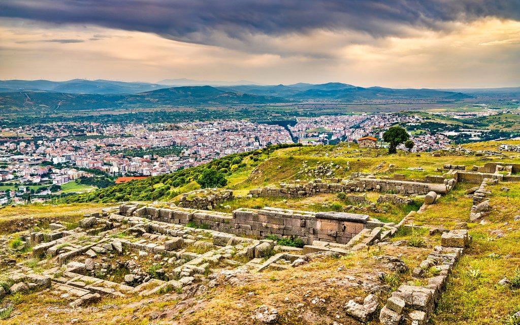 Ruins of the Ancient Greek City of Pergamon, Turkey