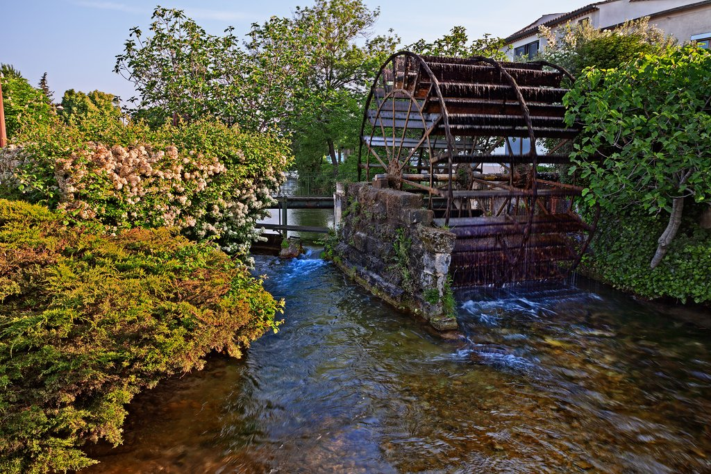 Watermill in L'Isle-sur-la-Sorgue