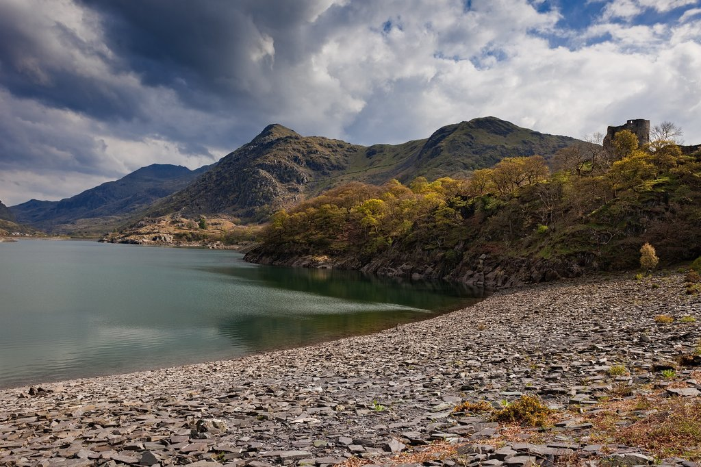 Enjoy the beautiful views from the top of Snowdonia, North Wales