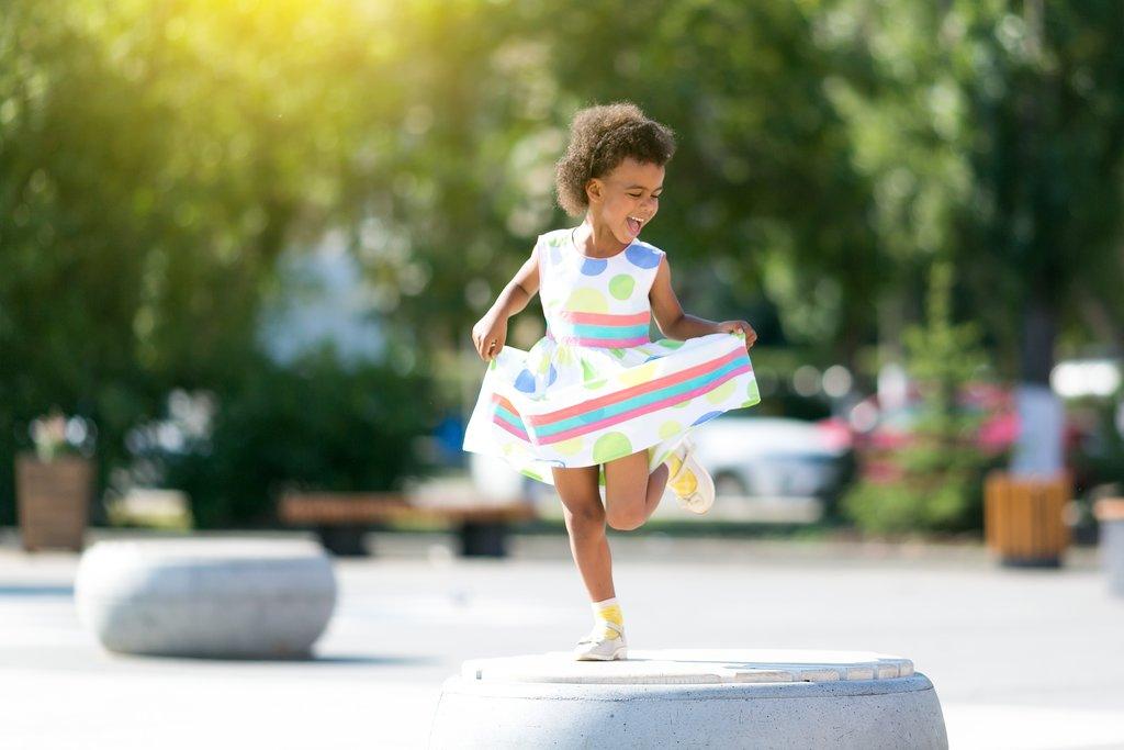 Dancing in the Paris Sunlight