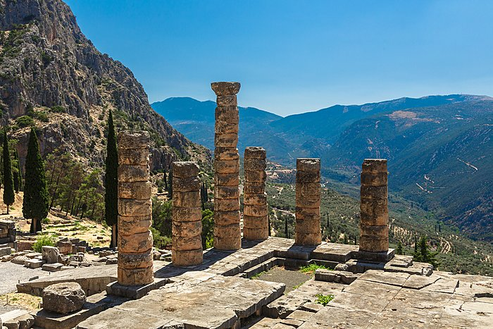 The Temple of Apollo, Delphi