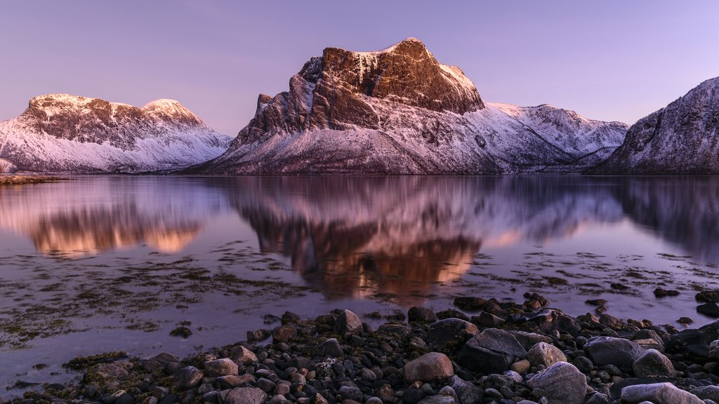 Senja's craggy peaks attract photographers from around the globe