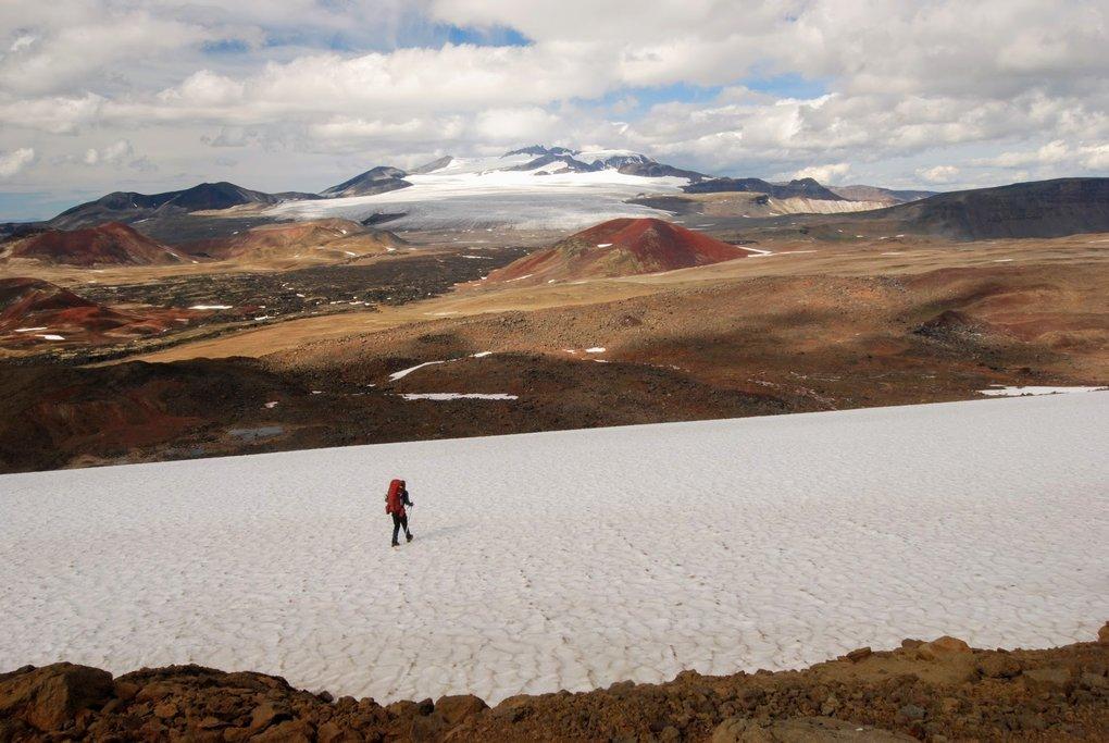 Volcanic plateau on the southern flank of Mount Edziza
