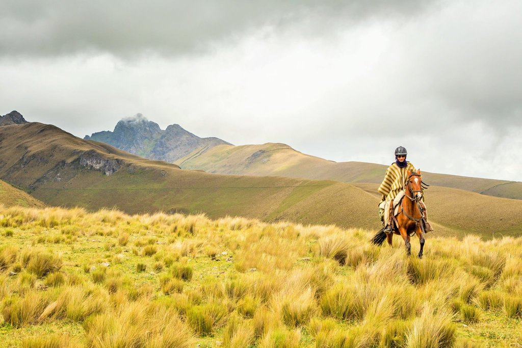 Horseback Riding in the Ecuadorian Andes