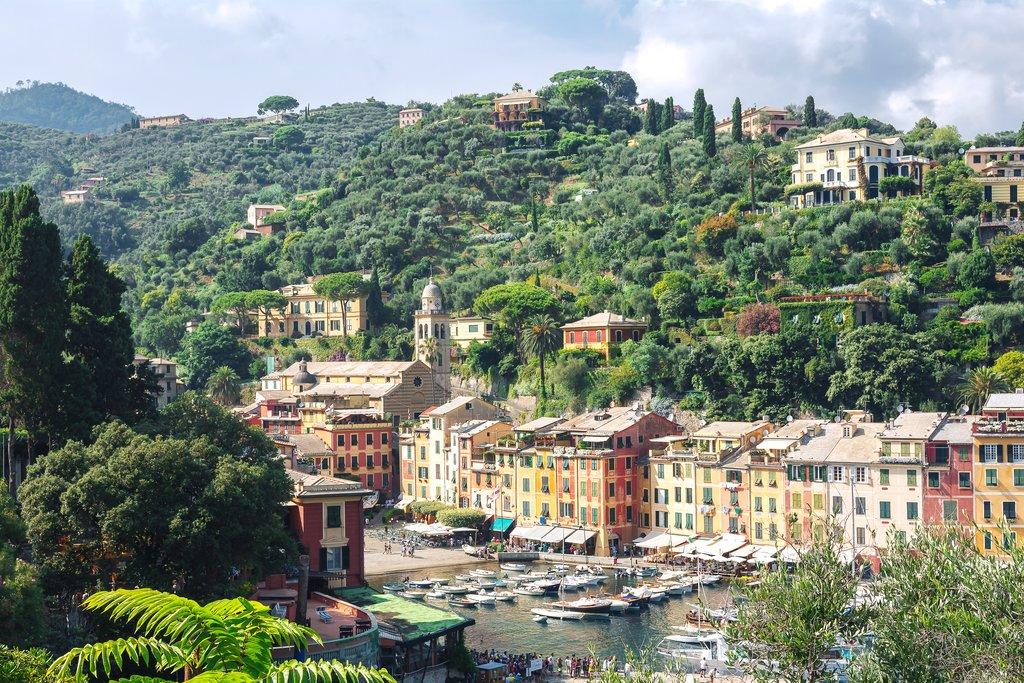 Portofino hillside & port