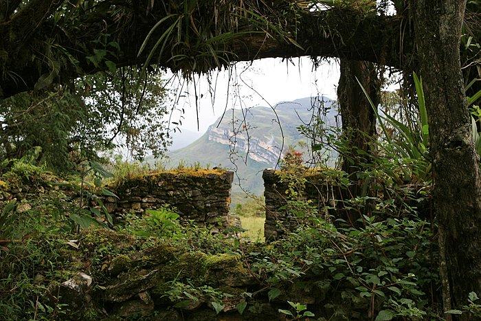 Kuelap ruins in northern Peru