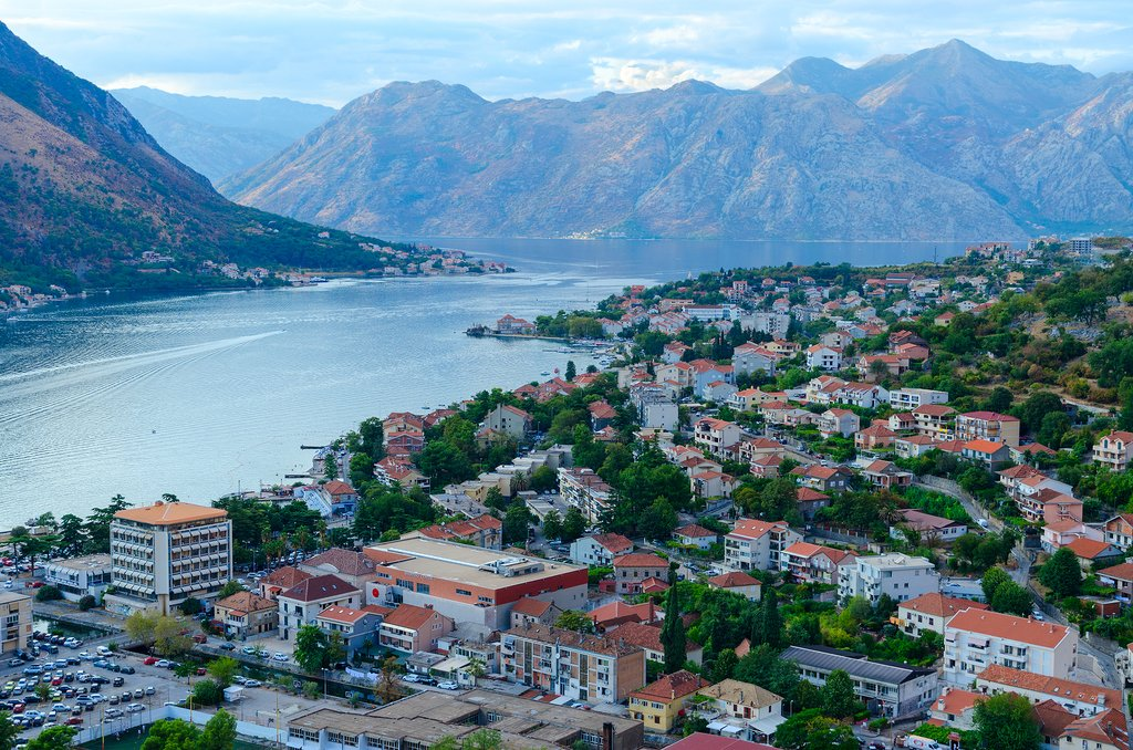 Kotor and Bay of Kotor, Montenegro