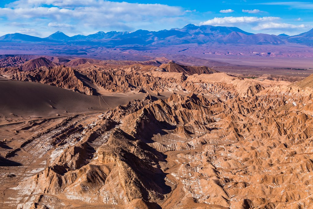 Moon Valley in Chile's Atacama Desert