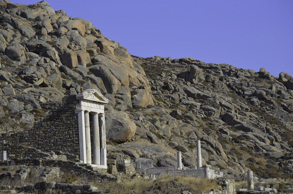 Temple of Hercules on Delos