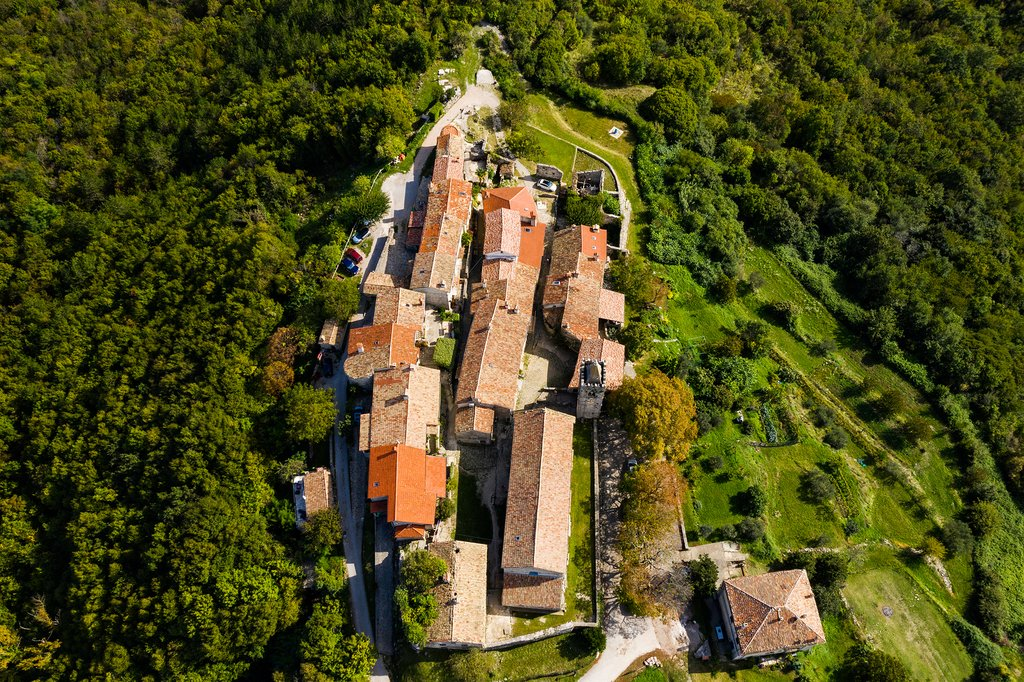 "The Istrian peninsula's Hum, the ""smallest town in the world"""