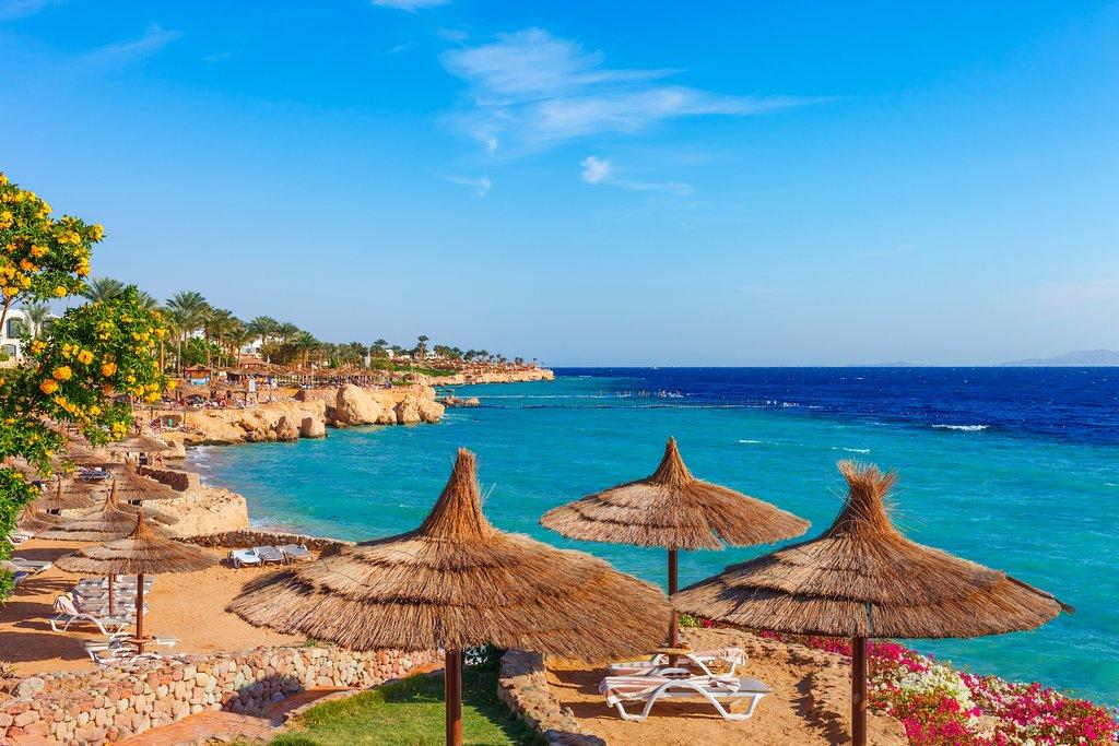 Sharm El Sheikh resort on the Red Sea
