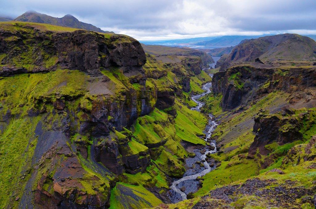 Lace up your hiking boots and go on a trek through Þórsmörk