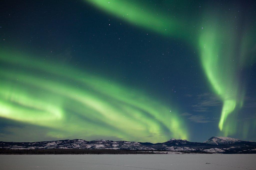 Aurora Borealis (Northern Lights) in the Yukon