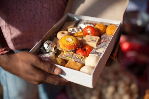 Delight your senses with Nepal's local sweets (Photo credit: Alex Treadway)