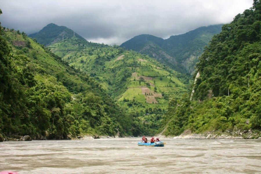 Rafting the Trisuli River