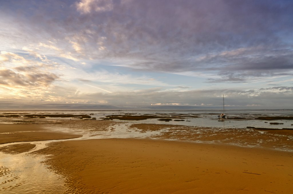 Low Tide in Arcachon Bay