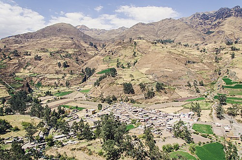 The seldom-taken road from Lima through Canta to the Andes