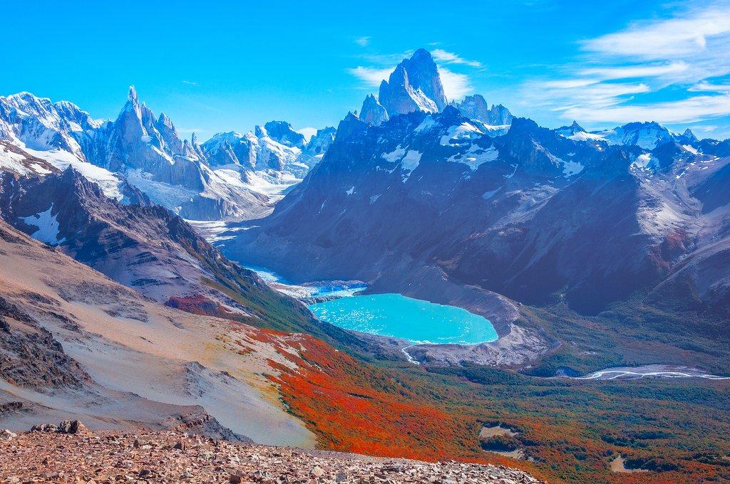 The Fitz Roy Massif near Argentina's El Chaltén