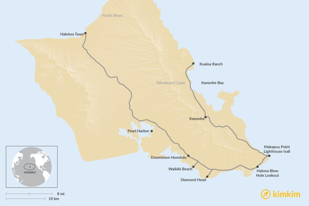 Hawaii Travel Maps Maps To Help You Plan Your Hawaii Vacation Kimkim